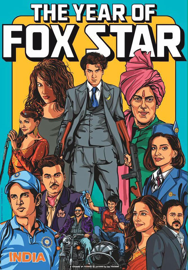 The Year of Fox Star Poster