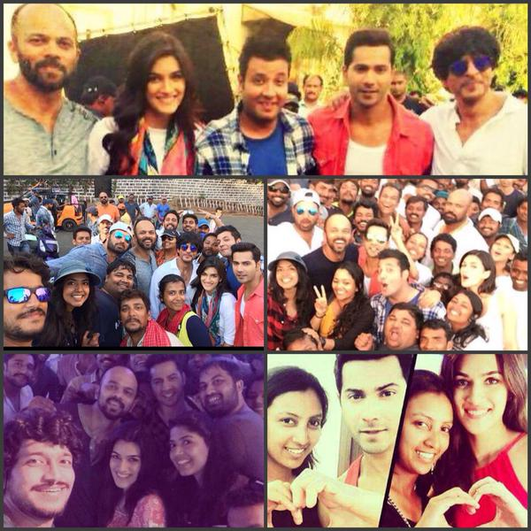 Varun, Kriti wrap up first schedule of Rohit's Dilwale