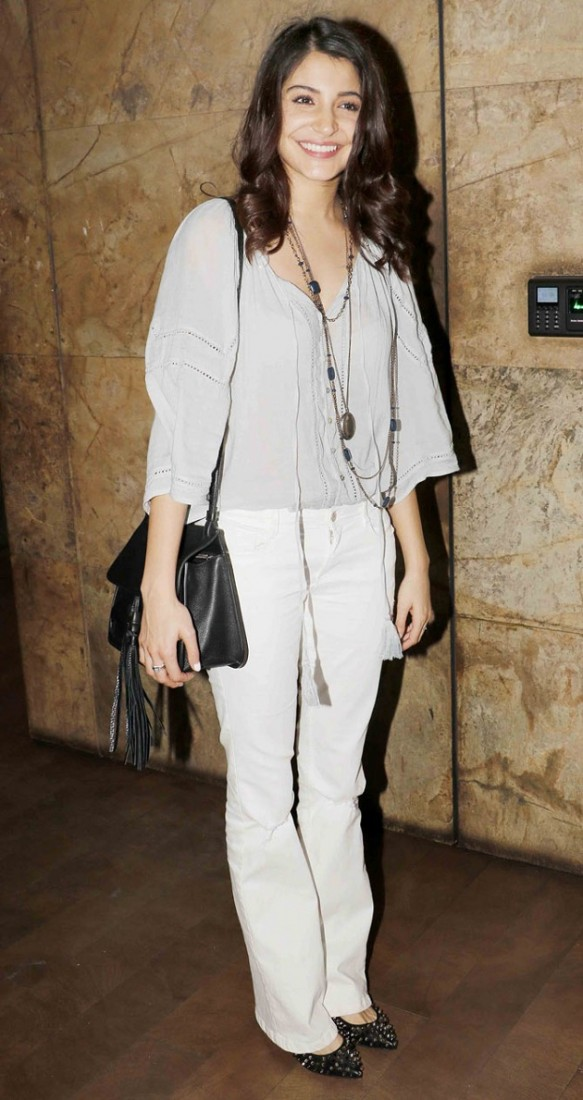 Anushka Sharma at Dil Dhadakne Do screening