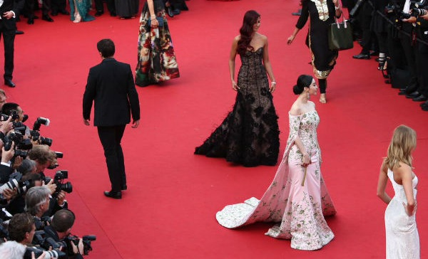 Katrina Kaif at Cannes Red Carpet