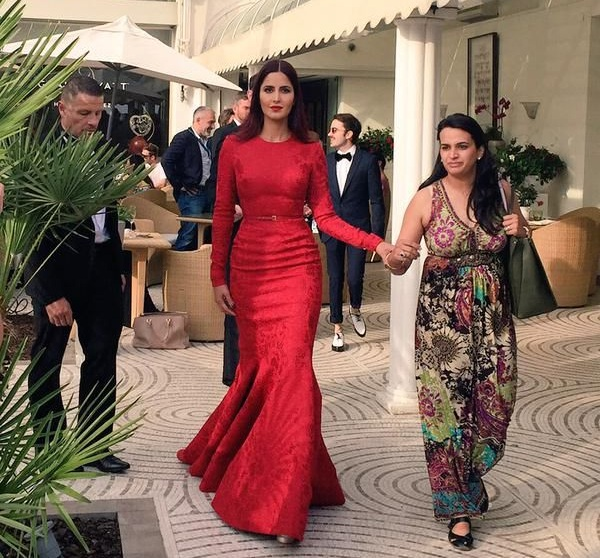 Katrina Kaif makes final appearance at Cannes 2015