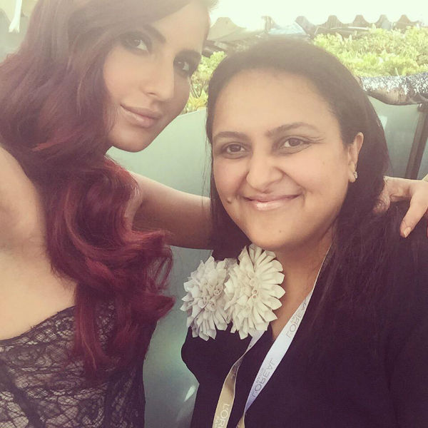 Katrina Kaif selfie with fan