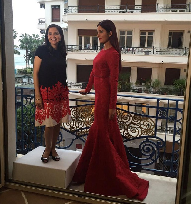 Katrina Kaif with Anupama Chopra