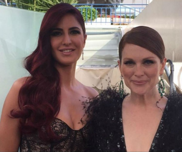 Katrina Kaif with Julianne Moore
