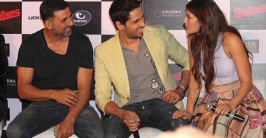 Akshay, Sidharth and Jacqueline at Brothers trailer launch