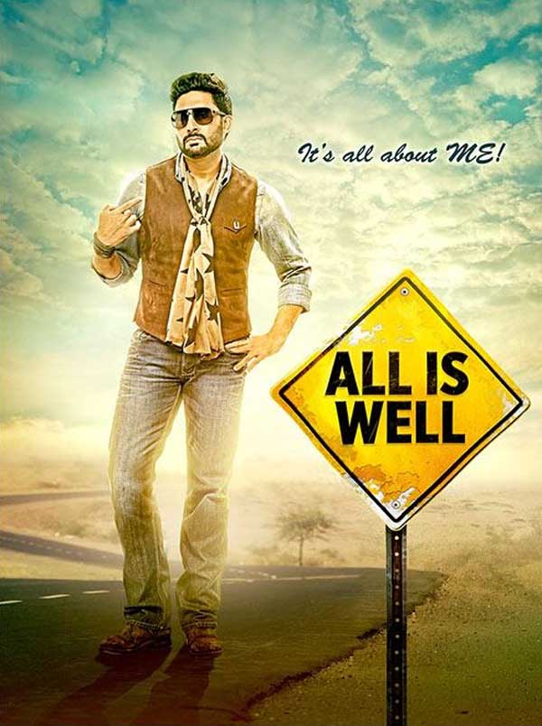 All Is Well first look - Abhishek Bachchan