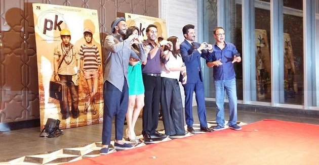 Dil Dhadakne Do team at PK success bash