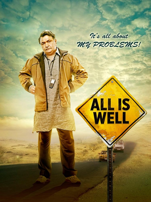 All Is Well first look - Rishi Kapoor