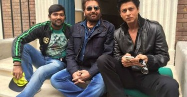 Vinod Khanna, Shahrukh Khan shooting for Dilwale in Bulgaria
