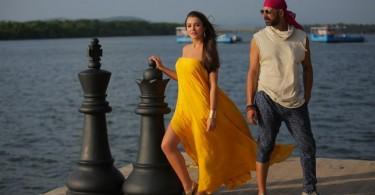 Amy Jackson, Akshay Kumar still from Singh Is Bling