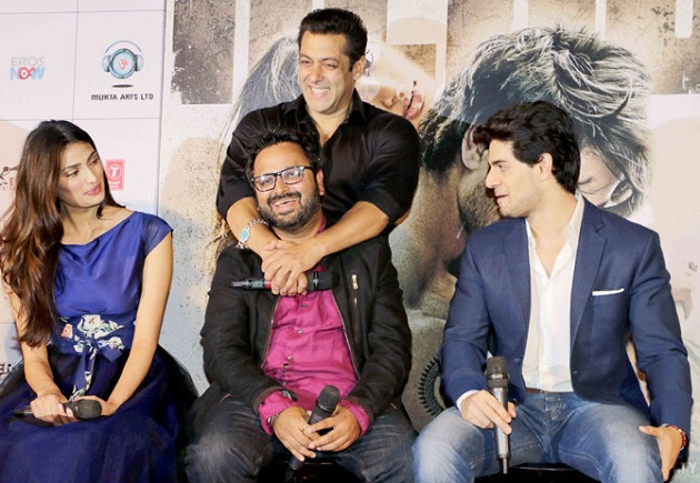 Athiya Shetty, Nikhil Advani, Sooraj Pancholi and Salman Khan