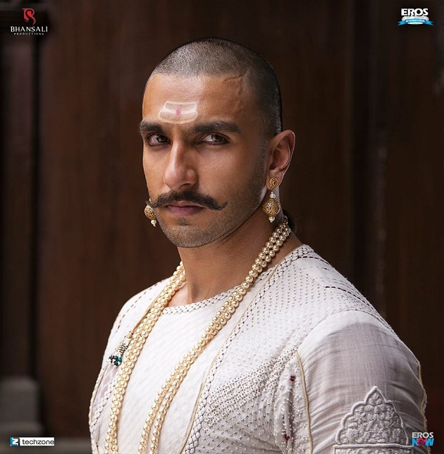 Bajirao Mastani First Look - Ranveer Singh