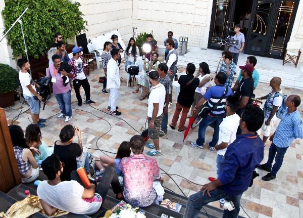 Hrithik Roshan, Sonam Kapoor on the sets of Dheere Dheere Se in Turkey