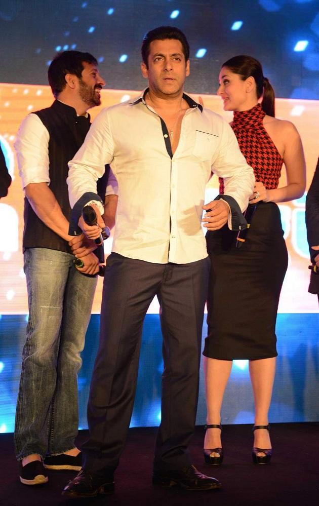 Kabir Khan, Salman Khan and Kareena Kapoor Khan