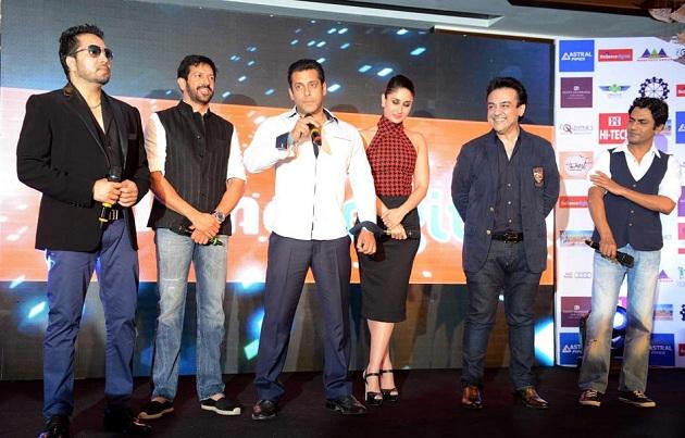 Mika Singh, Kabir Khan, Salman Khan, Kareena Kapoor, Adnan Sami and Nawazuddin Siddiqui
