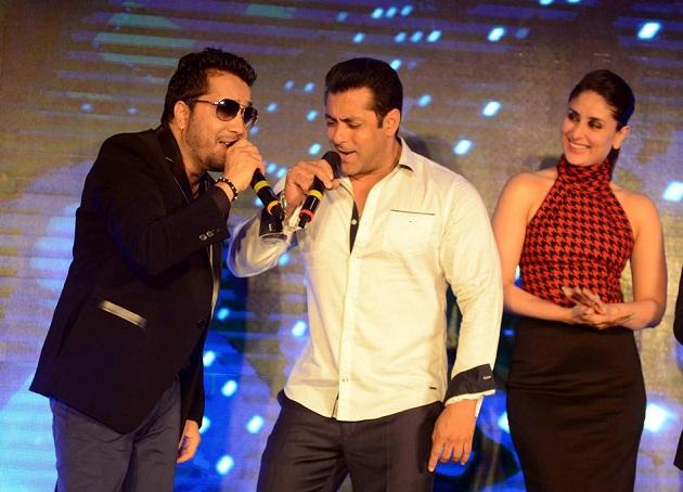 Mika Singh, Salman Khan and Kareena Kapoor promote Bajrangi Bhaijaan