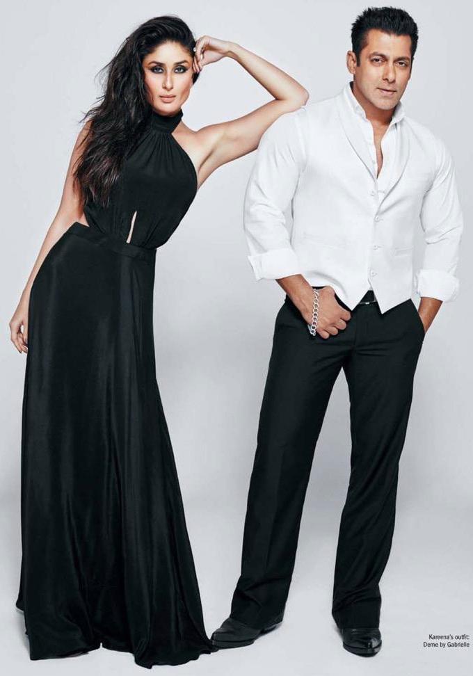 Salman and Kareena's filmfare shoot