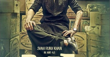 Shahrukh in and as Raees