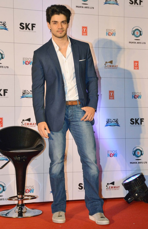 Sooraj Pancholi at Hero trailer launch
