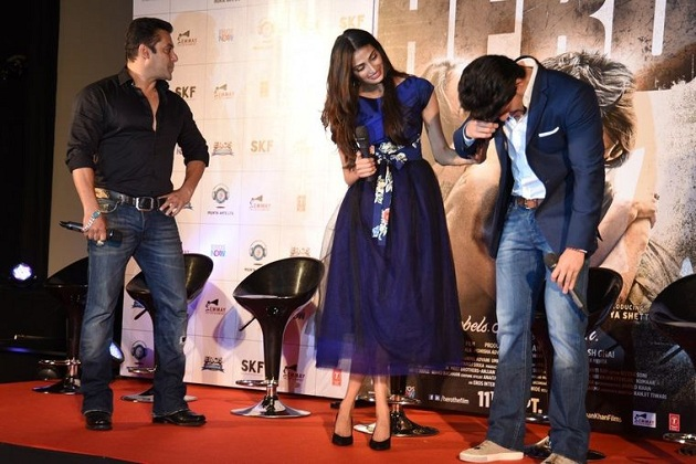 Sooraj Pancholi gets emotional at Hero trailer launch