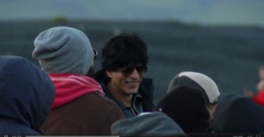 Shahrukh Khan shoots for Dilwale song