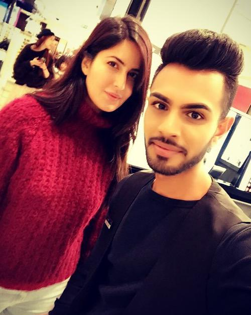 Katrina Kaif spotted with a fan in London