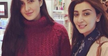 Katrina Kaif with Ayesha Khan in London