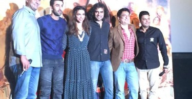 The Tamasha team at the trailer launch