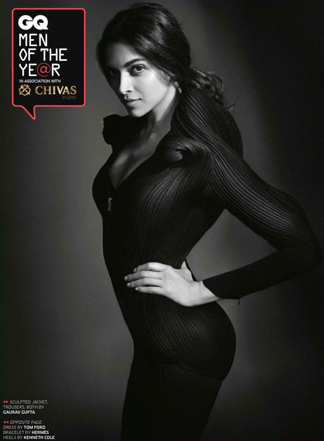 Deepika Padukone for GQ:Pics