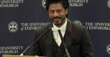 Shahrukh Khan at the University of Edinburgh