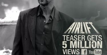 Airlift Teaser crosses 5 million views