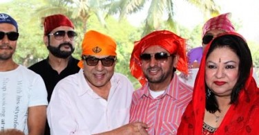 Randeep Hooda, Dharmendra and Gulshan Grover