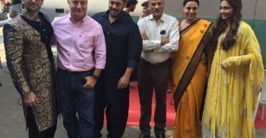 Salman Khan PRDP team at Diwali Promotion
