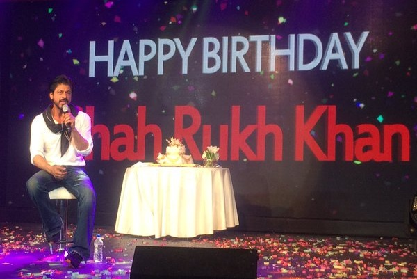 Best Pics from Shah Rukh Khans 50th Birthday