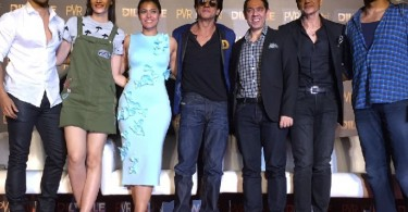 Team Dilwale at Manma Emotion Song launch