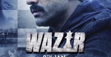 Wazir Poster - Farhan Akhtar