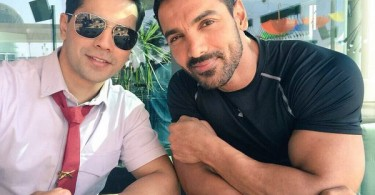 Varun Dhawan, John Abraham on the sets of Dishoom
