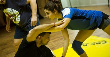 Anushka Sharma sweats it out for Salman's Sultan