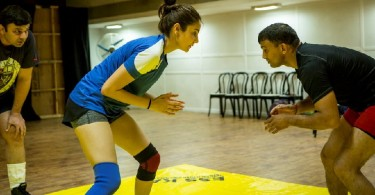 Anushka Sharma training for Sultan