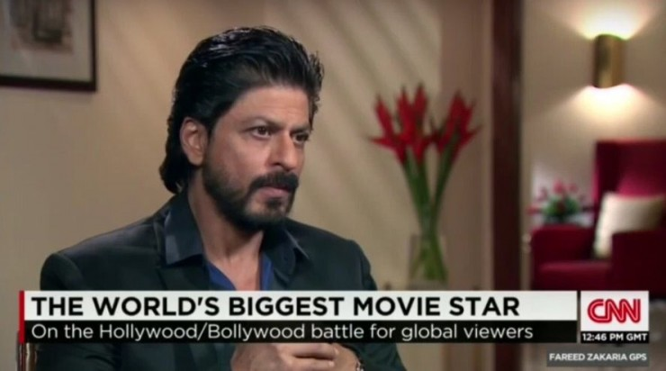 CNN Shah Rukh Khan World's Biggest Movie Star