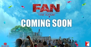 Shahrukh Khan's Fan The Game Poster