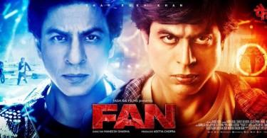 Fan New Poster - Shahrukh Khan