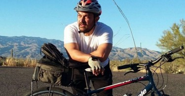 Aamir Khan pants for breath after a long cycle ride