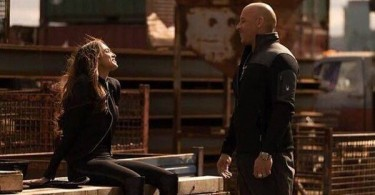 Deepika Padukone and Vin Diesel on the sets of XXX The Return of Xander Cage