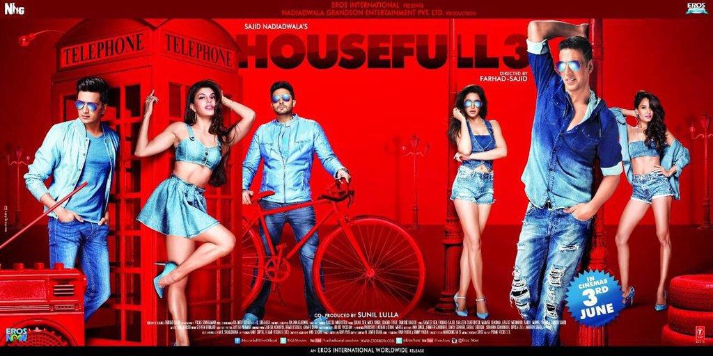 Housefull 3 New Poster