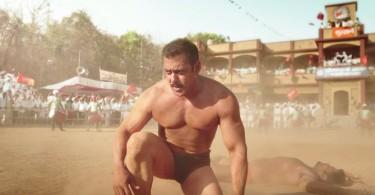 Salman Khan in a still from Sultan