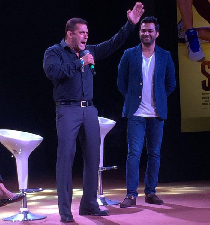 Salman Khan at Sultan Press Meet