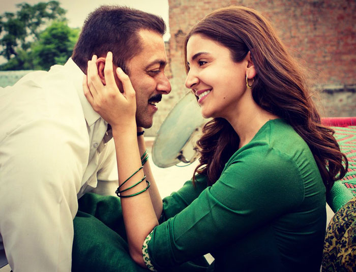 Salman Khan with Anushka Sharma - Sultan New Still