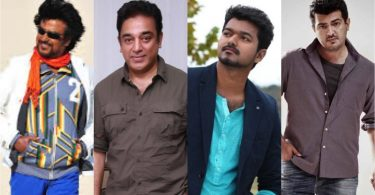 Top Actors in Tamil Cinema