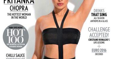 Priyanka Chopra on Maxim Magazine Cover